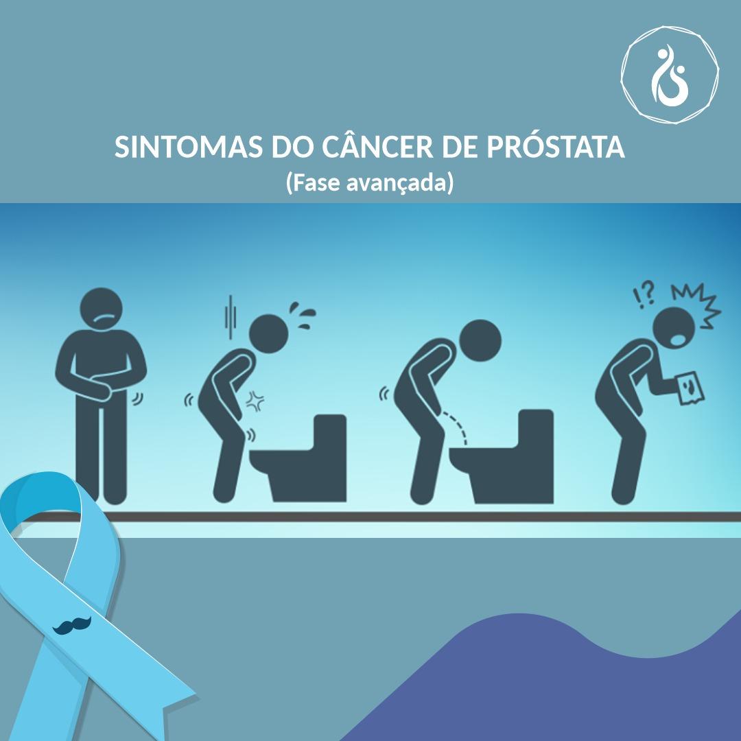 cancer prostata sintomas avancado